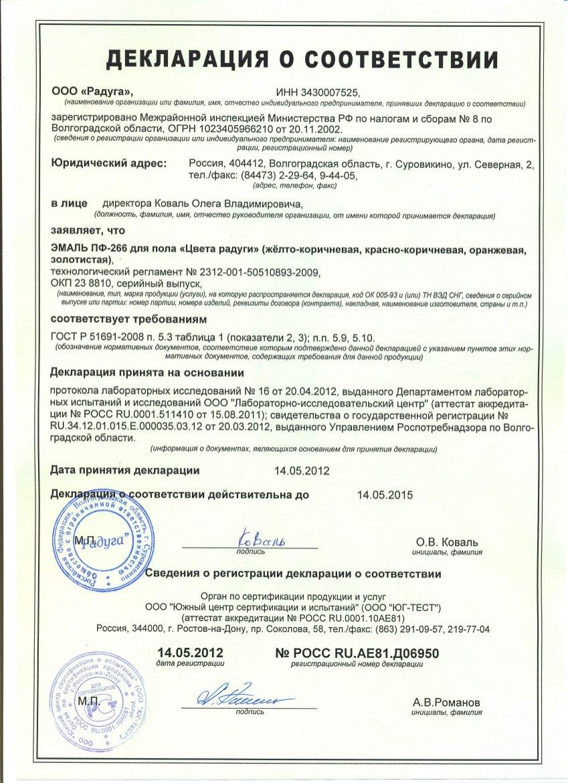 Краска масляная гост сертификат сертификация iso 20000 в россии